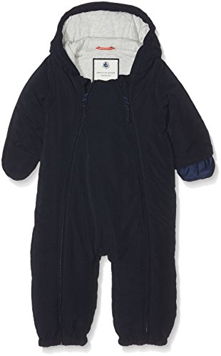 Petit Bateau Petit Bateau Unisex Baby Schneeanzug Combinais Pilote, Blau _3(ABYSSE 13), 6 Monate