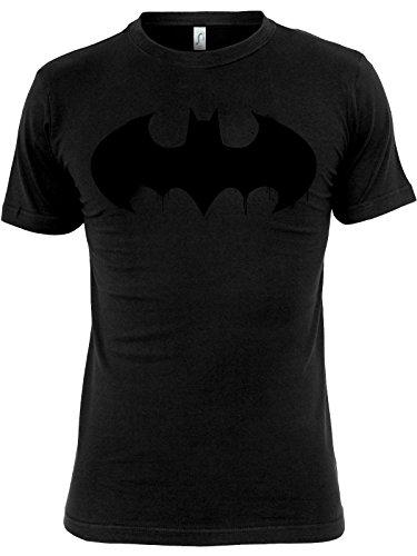 Batman Inked Logo T-Shirt (Black), Größe:S