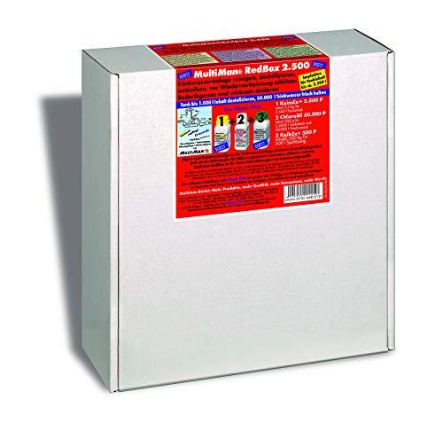 Multiman RedBox zur jährlichen Reinigung von Trinkwasseranlagen (Reinigung, Desinfektion und Entkalkung), Tankgröße:Tanks ab 10-125 l
