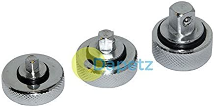 Dapetz Palm Ratchet Set 3Pce Mechanical Tools Garage Tool Socket 1 4  3 8 1 2