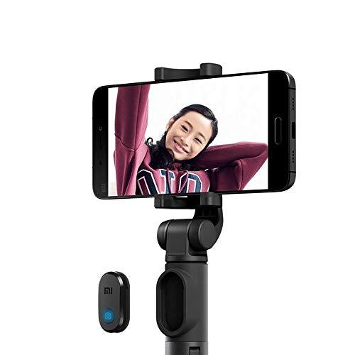 Selfie Stick Xiaomi Original Com Controle Remoto Bluetooth - Cinza
