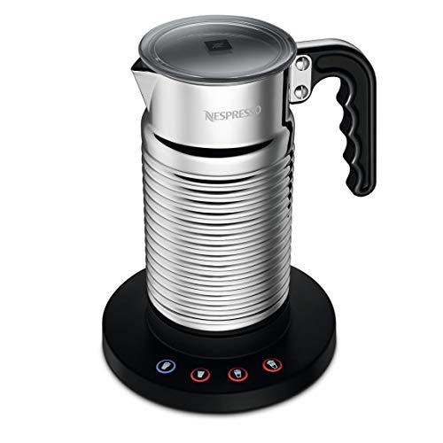 Nespresso Aeroccino 4 nieuwe melkopschuimer schuimalat kleur: Argento cod. 4192