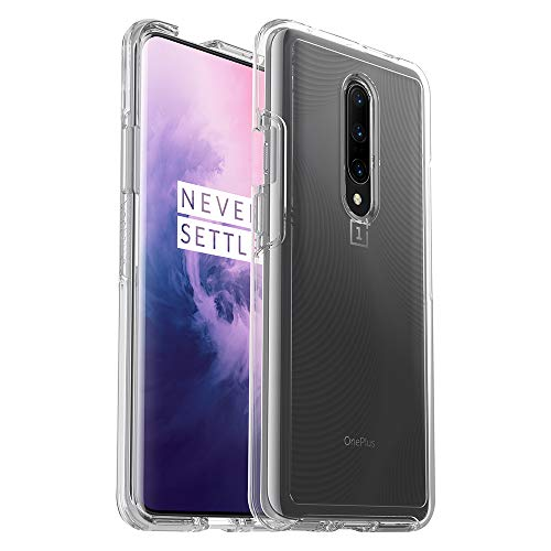 OtterBox Symmetry Clear Series Case for OnePlus 7 Pro - Retail Packaging - Tubular (Clear/Tubular IML)
