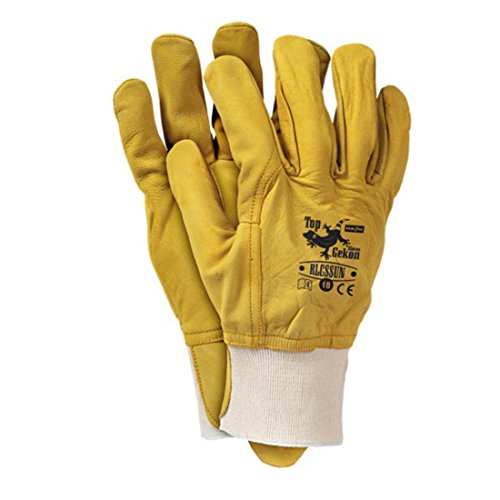 3 Paar Lederhandschuhe aus Ziegenleder Handschuhe Arbeitshandschuhe QUALITÄTSWARE