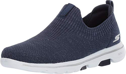 Skechers GO Walk 5-15952 Sneaker, Navy/White, 10 M US