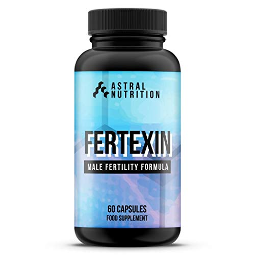 Fertexin Male Fertility Pills - 1 Month Supply | Increases Sperm Potency | Supports Likelihood of Pregnancy | Proven Natural Formula