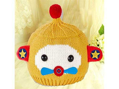 Bébé Cadeau bébé Creative souple Hairball à tricoter Chapeau de Flight Infant Hiver chaud à capuchon pour nouveau-né Chapeau