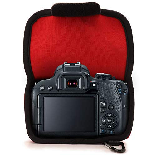 MegaGear MG1194 Para Canon EOS 200D, 800D (18-135 mm), 77D, 9000D ...