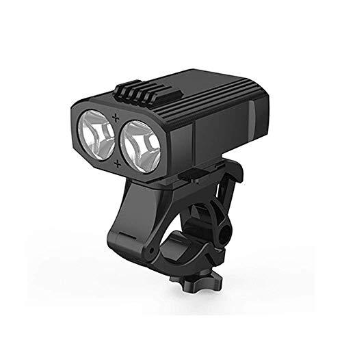 HIGHKAS Équitation vélo lumières Ensemble lumière vélo, LED Rechargeable VTT vélo lumières Avant vélo pour vélo Route, étanche, Lampe Poche d'équipement Bicyclette