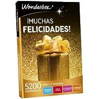 WONDERBOX Caja Regalo -¡Muchas FELICIDADES!- 5.200 Actividades para Dos Personas
