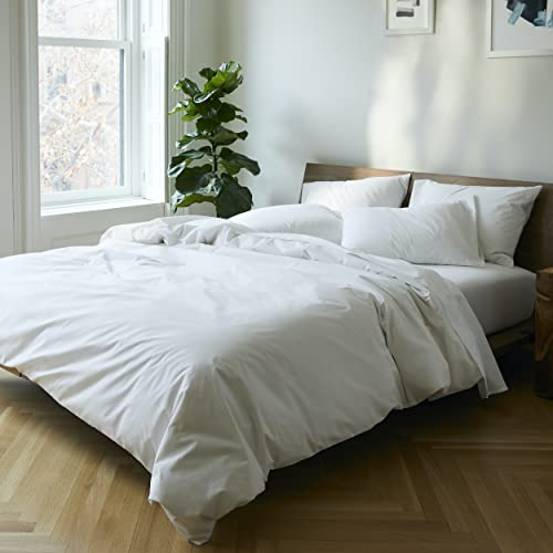 Brooklinen Luxe Core Sheet Set for Twin Size Bed, Solid...
