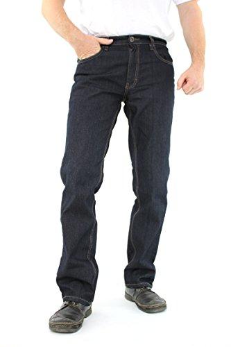 Oklahoma Jeans Grey Black/Schwarz Matrix R-140 Stretch (SDN-Dark-Blue) W42/L32