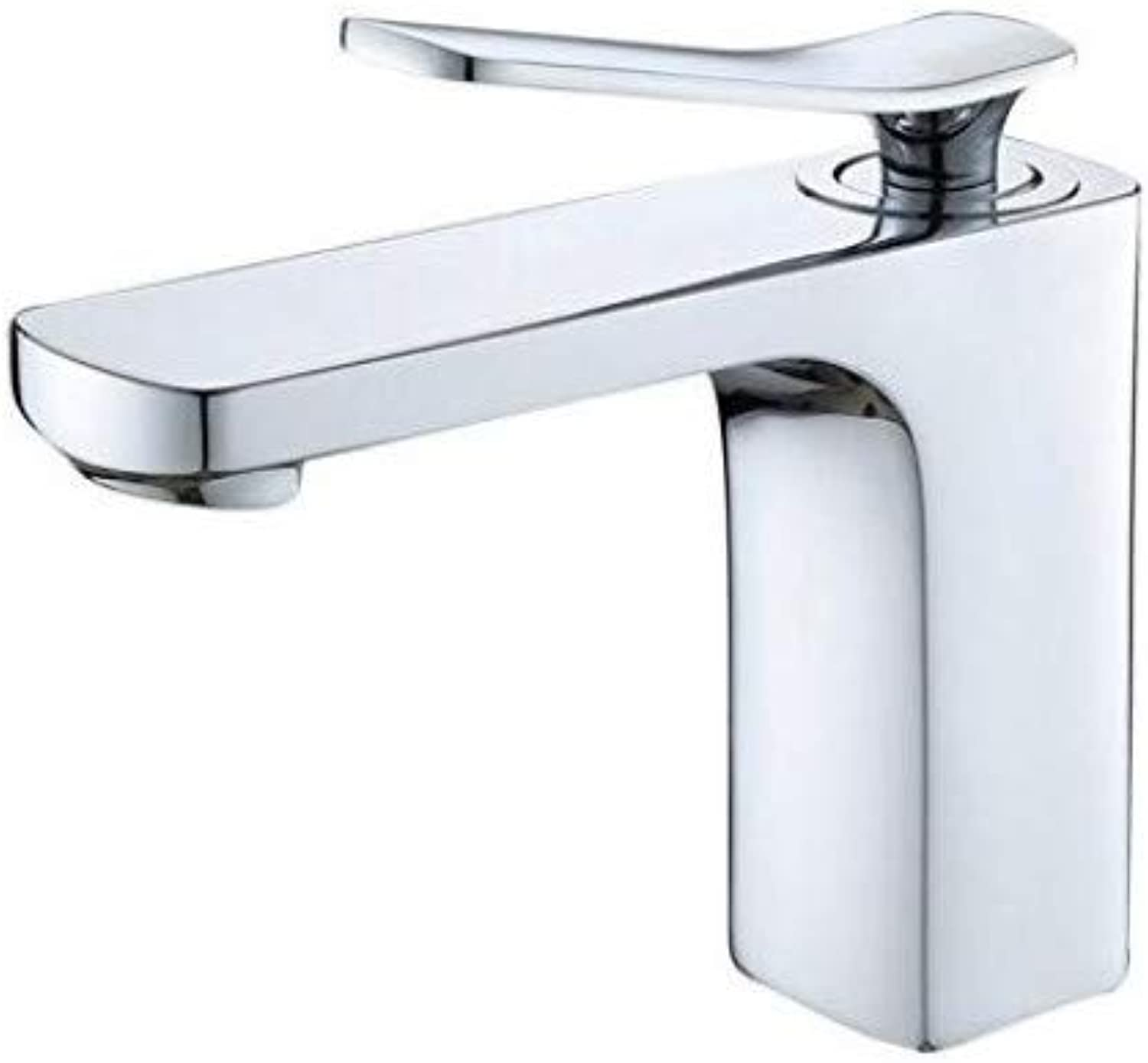 Taps Kitchen Sink Faucet All Copper Chrome Plated Faucet Basin, Hot and Cold Water Faucet