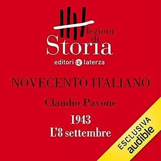 Novecento italiano - 1943. L'8 settembre copertina