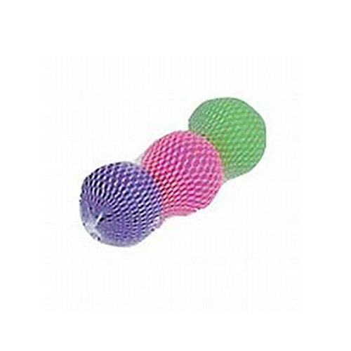 Beach Paddle Replacement Balls by None,multi colored, Pack of 3