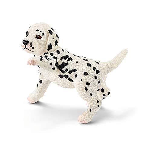 SCHLEICH Farm World, Animal Figurine, Farm Toys for Boys and Girls 3-8 Years Old, Dalmatian Puppy