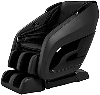 Titan Chair Apex AP-Pomp Zero Gravity Massage Chair, Foot Rollers, Space Saving, L-Track Design, and Lower Back Heat Therapy (Black)