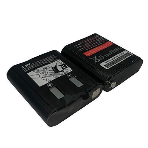 SHUGJAN 2pcs batería 3,6 V 700mAh for MOTOROLA 53615 HKNN4002 HKNN4002B HKNN4002A KEBT-071-B KEBT-071D KEBT-071-C MS350 MR350 MJ270 Piezas de montaje RC (Color : 2pcs)