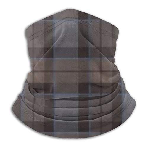 NA Outlander Fraser Tartan Karomuster Gesichtsmaske Magischer Schal Outdoor Bandana Gesichtsschutz Multifunktionstuch Winddicht Hals Gaiter UV-Schutz