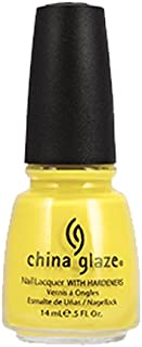 China Glaze Nail Lacquer, Happy Go Lucky, 0.5 Fluid Ounce