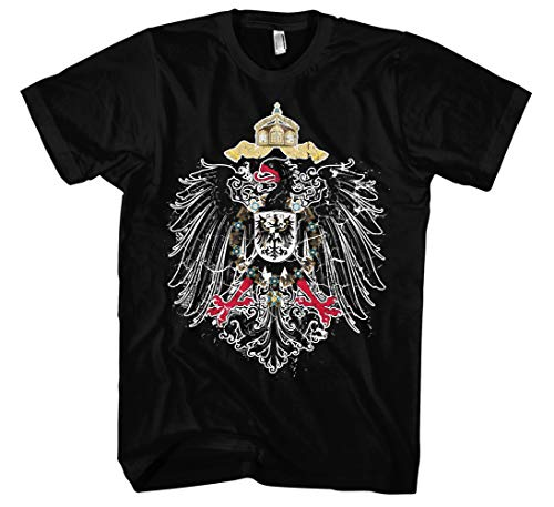 Kaiserreich Männer Herren T-Shirt | Deutschland Preußen Deutsches Kaiserreich (4XL)