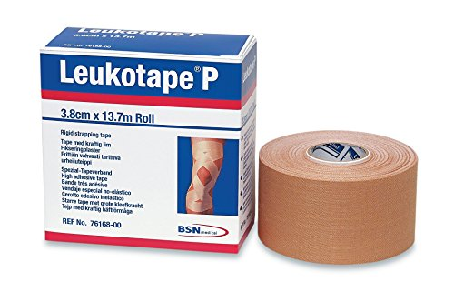 BSN Medical BEI076168 Leukotape P Sports Tape, 1 1/2 Inch x 15 Yard (2 Pack)