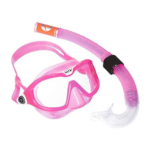Aqua Lung Kinder Maske & Schnorchel Set- Reef Dx + Air Dx, pink, 109620