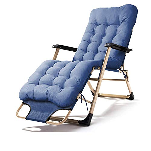 Reclining Zero Gravity Lounge Chair, Patio Outdoorolding verstelbare stoelen met kussens of Terras Patio Beach Yard, A zhihao (Color : B)