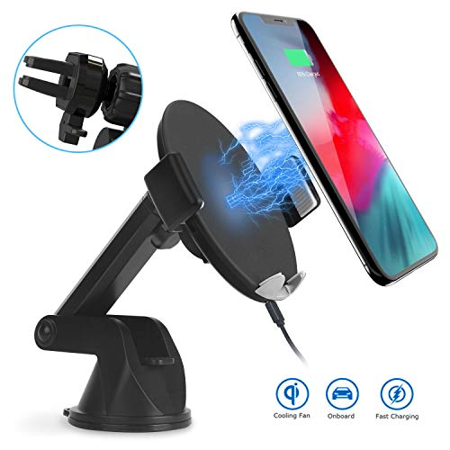 pas cher un bon Maijie Guided Car Charger Wireless Car Charger with Retractable Phone Holder…