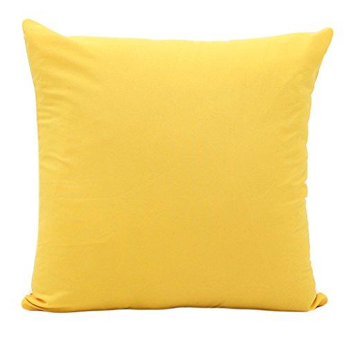 XINGYUE Candy Funda de cojín de color sólido para sofá, silla de coche