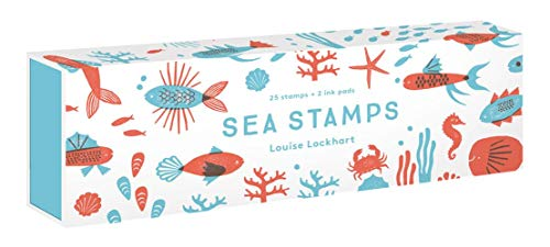 Compare Textbook Prices for Sea Stamps: 25 Rubber Stamps and Two Ink Colors  ISBN 9781616898946 by Lockhart, Louise