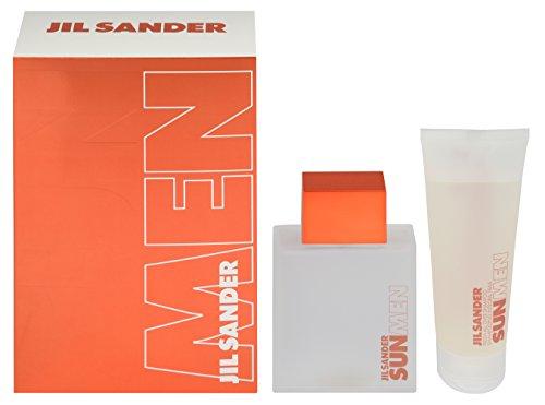 Jil Sander Sun Men Geschenkset für Ihn (EdT Spray 75ml + Duschgel 75ml)