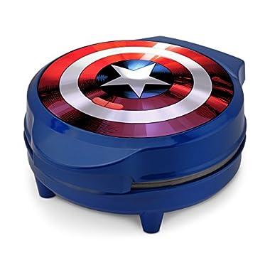Marvel MVA-278 Captain America Waffle Maker, Blue