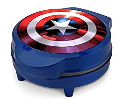 35 Amazing Marvel Gift Ideas featured by top US Disney blogger, Marcie and the Mouse: Captain America Waffle Maker