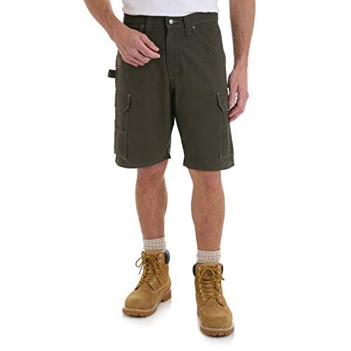 Wrangler Riggs Workwear Herren Ripstop Ranger Cargo Shorts - Grün - 56
