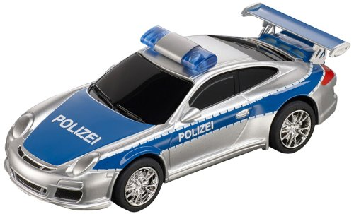 Carrera Digital 143 - 20041372 - Voiture De Circuit - Porsche 997 Gt3 Polizei