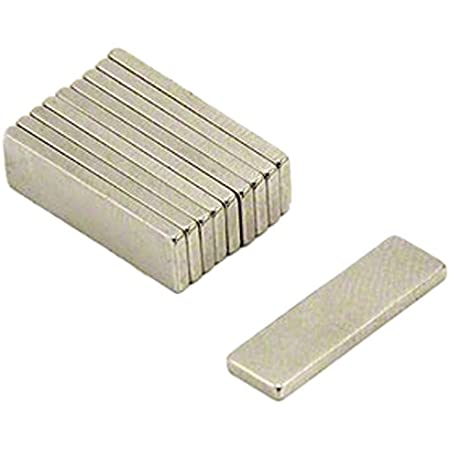 Magnet Expert 20 x 6 x 1.5 mm d'épaisseur N35 Néodyme Aimant - 1.1 kg de traction (Paquet de 10)