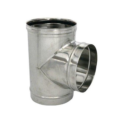 T approprié pour poêle à pellets INOX 304 cm Ø12