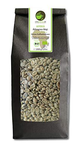 Bio Rohkaffee Arabica Äthiopien Maji 1000g