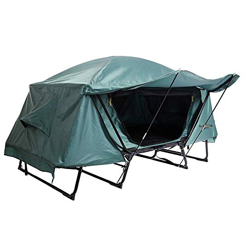 XSWZAQ Outdoor Zelt Single Double Fishing Camping warm Winddicht regendicht Off-Ground Zelt (Size : 214 * 77 * 120cm)