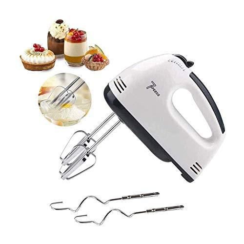 XOI LKNJLL 7 Speed Easy Mix Electric Hand Mixer,White