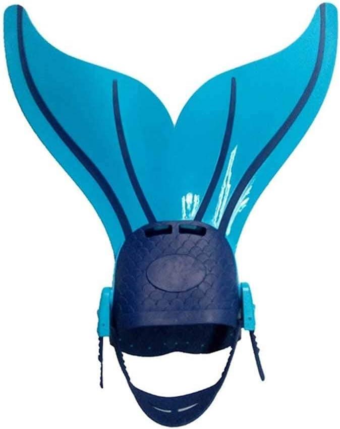 Sgxiyue Swimming Fins Mermaid Fin Flippers Adjustable Swimming T