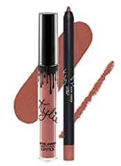 Contains: 1 Matte Liquid Lipstick (0.11 fl oz./oz. liq / 3.25 ml) and 1 Pencil Lip Liner (net wt./ poids net .03 oz/ 1.0g)
