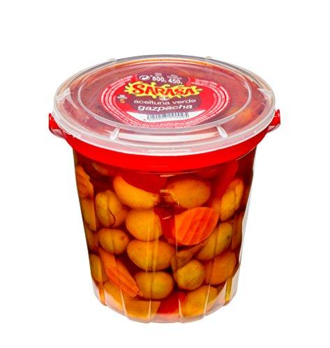 Aceituna gazpachera, Paquete de 6 x 800gr - Total: 4800 gr