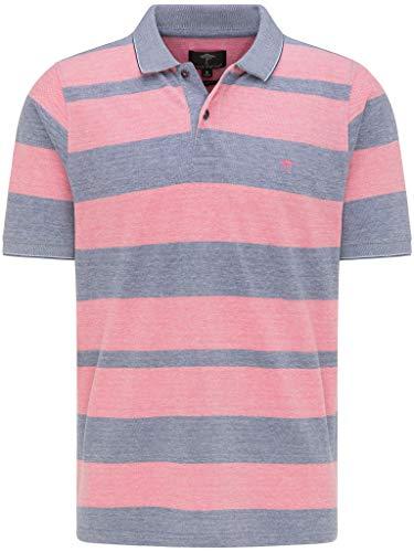 FYNCH-HATTON Herren Poloshirt Kurzarm - aus Premium Baumwolle - Polo Short Sleeve mit Polokragen Basic in Blockstreifen