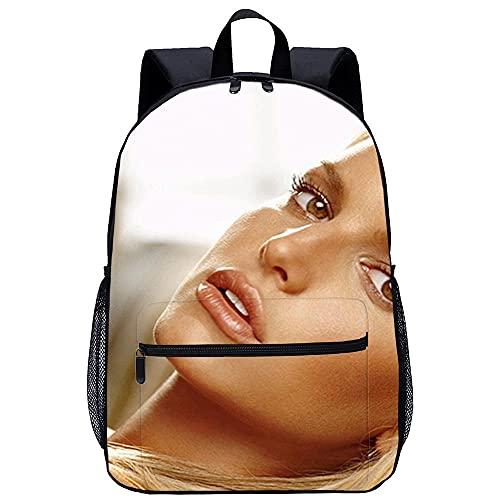 3D Escolar Mochila con mochila-Jessica Simpson-Adecuado para: estudiantes de primaria y secundaria, la mejor opción para viajes al aire libre-Tamaño:...