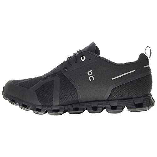 On Running W Cloud Waterproof Schwarz, Damen Laufschuh,...