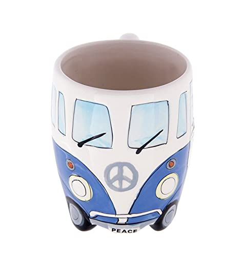 Taza de café creativa de cerámica encantadora Camper Van Retro Bus Mug