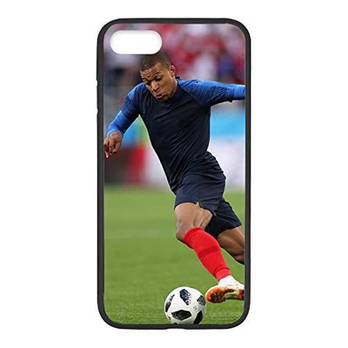 PEWORWEY Case/Handyhülle/Hülle/Coque/Custodia/Carcasa/Cover/Shell,Mbappe DIY Phone Case for Samsung Galaxy S6Edge, Kylian-Mbappé,[M141-8034]