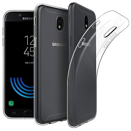 EasyAcc Hülle Case für Samsung Galaxy J5 2017, Dünn Crystal Clear Transparent Weich Handyhülle Cover Soft Premium-TPU Durchsichtige Schutzhülle Kompatibel mit Samsung Galaxy J5 2017 / J530